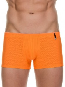 ratio short orange stripes